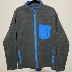 NWT PATAGONIA Men's Large Full Zip Fleece
